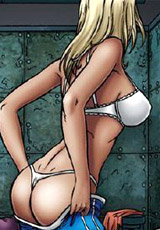White slaves in harem satisfies rich arabian men!