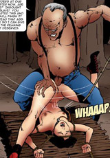 Cartoon viking love using bdsm tools to satisfy his kinky desires in awesome cartoon comix