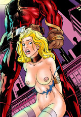 Gagballed slave twins gonna be used in every hole by horny men invited by crazy perverted mistress.