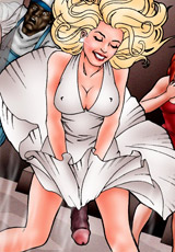Cruel master fuck slave's ass and torture her nipples at the same time!